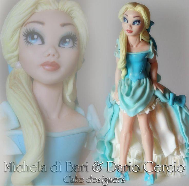My Cinderella ♥ - Cake by Michela di Bari