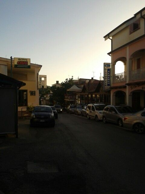 July in Palinuro