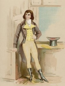 "1886 illustration of Beau Brummel as a young man. He represents the quintessential  ""dandy,"" a fashionable man that circulated in high society."