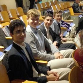Debaters compete in OSDU and Fulford League events   Trinity College School