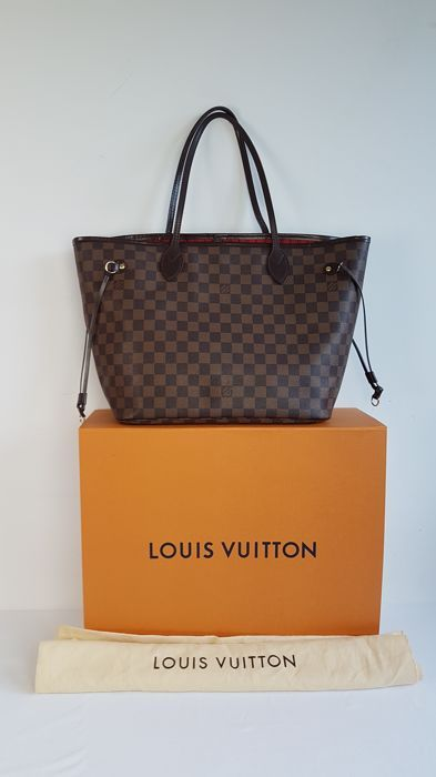38f3a7f05754 Nu in de  Catawiki veilingen  Louis Vuitton - Neverfull damier Ebene GM bag  -