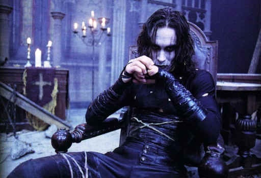 Yep, had this poster right above my bed :) The Crow.