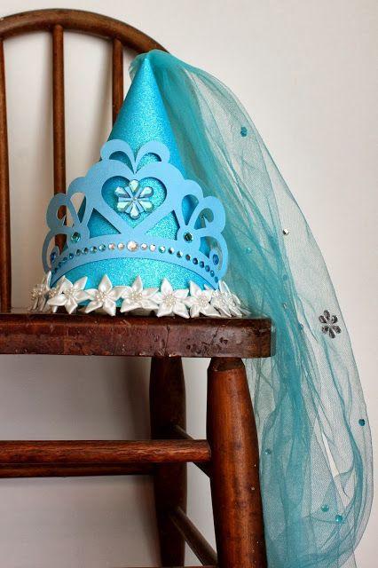 Cinderella Birthday Princess Party Hat by elizabethdoodah