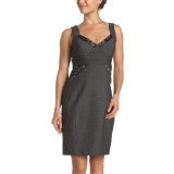 XOXO Juniors' Sweetheart Neckline Sheath Dress,Black,13 (Apparel)By XOXO