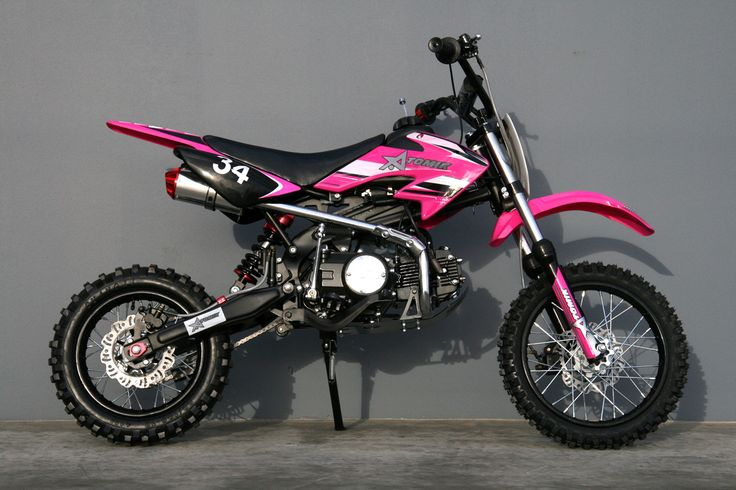 125cc Moto 34 Pink Pit Bike can't wait to get one