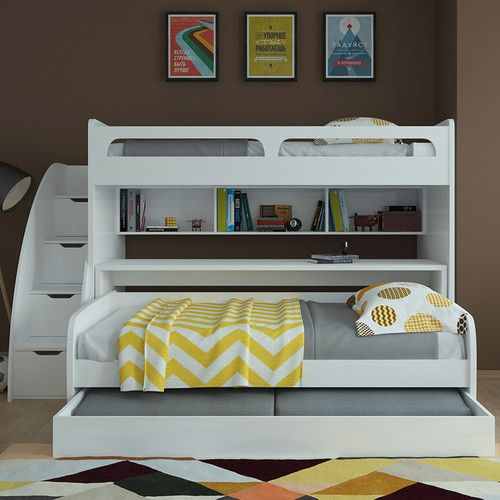 Found it at Wayfair - Bel Mondo Twin Bunk Bed with Trundle