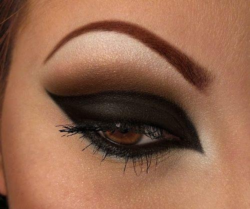 Heavy black dramatic #smokey #eye #makeup | Beauty ... Dramatic Black Eye Makeup