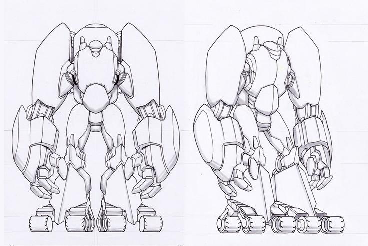Mecha-armor 2