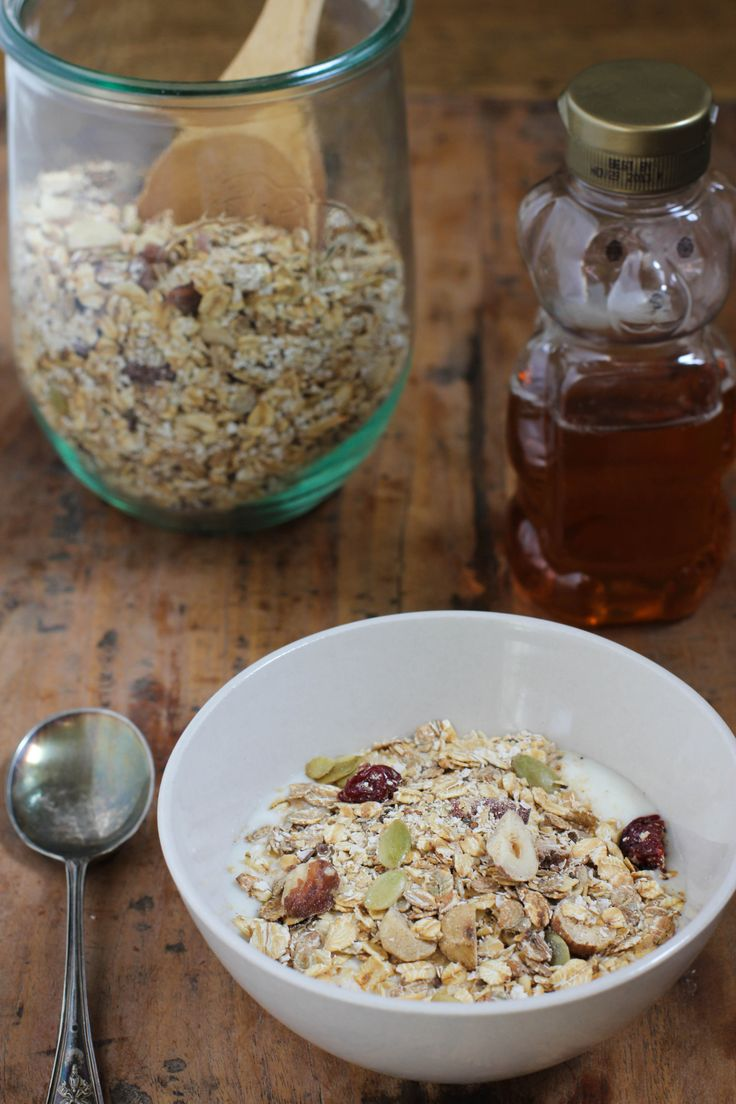 Homemade Muesli Recipe for breakfast in a jar | Vintage Mixer
