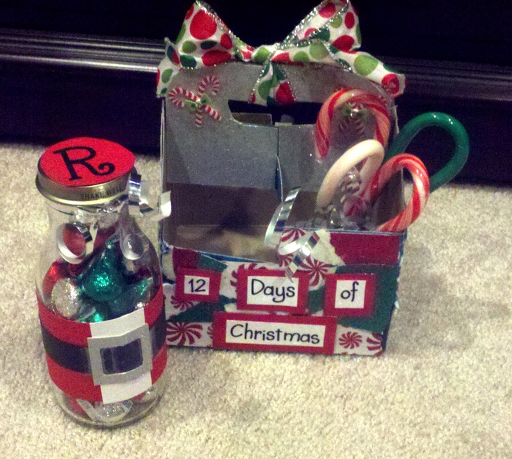 12 Days of Christmas-I made this for my boyfriend for the ...