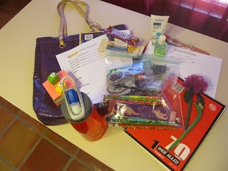 """What to keep in your """"Bag of Tricks"""" for substitute teaching."""