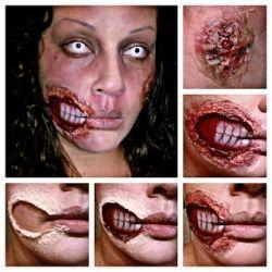Halloween Fun with Liquid Latex
