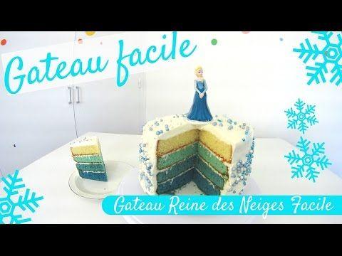 Faire un gateau Reine des Neiges facile avec 2 recettes extra | Blog Univers Cake