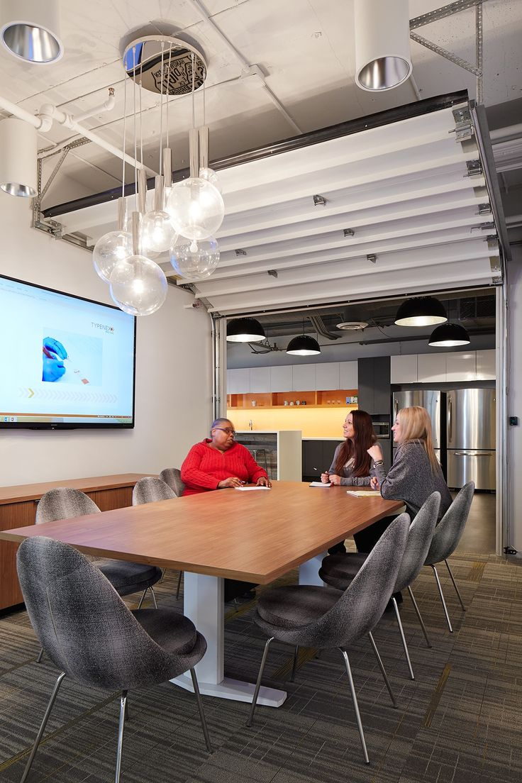 Inside Chicago Venture Partners Modern Office