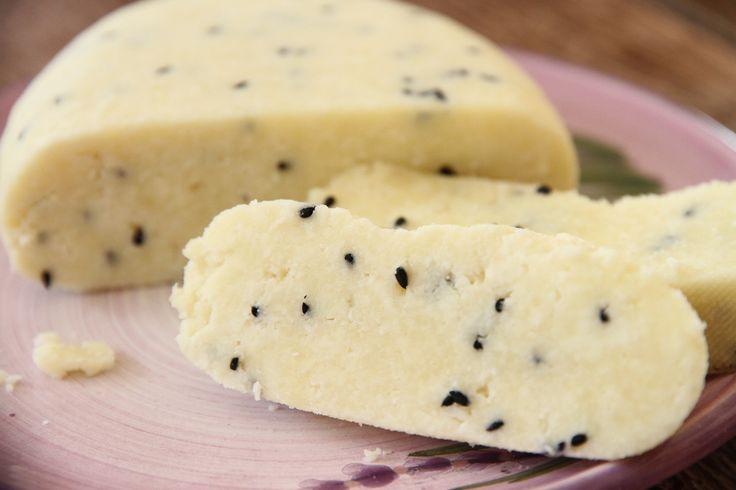 Sarımsak ve Çörek Otlu Ev Yapımı Peynir | Reyhan'ın Mutfağı