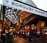 bourough market - this was an amazing market serving internation foods and also meats and cheese. This market was in the East End of London, on the Thames. Such a great venue, really enjoyed it!