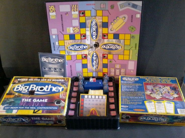 Big Brother TV Show The Game Pressman 2000 Board Game CBS  #Pressman