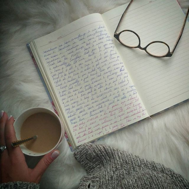 ... Dear diary  #writer #coffee #goodmorning #glasses #journal #diary #carpet #homedecor #homedesign #decoration #decor #homestyle #bedroom #breakfast #memories #manicure #nails #style #musician #beauty