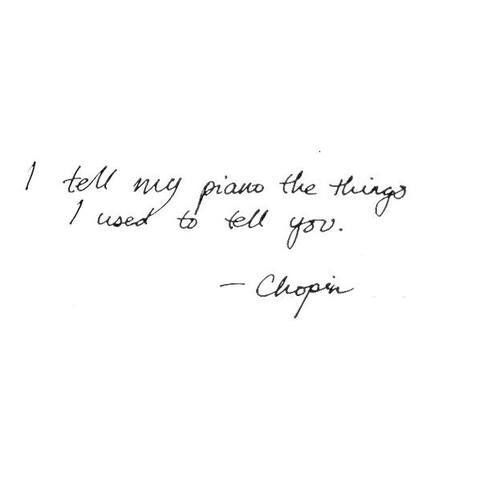 Chopin, the most knowledgeable of any composes on the keyboard and so much love.