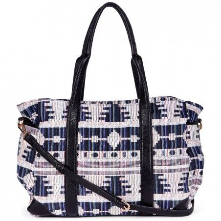 Sole Society - Large Printed Totes - Joni - Blue Multi