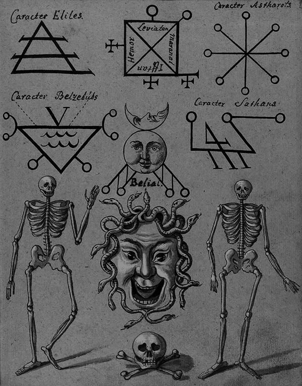 Evil Occult Diagrams Wiring Circuit