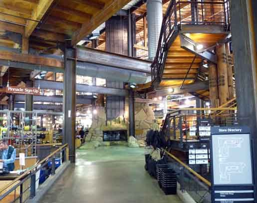 rei store interior   The Seattle REI Flagship Store's ...