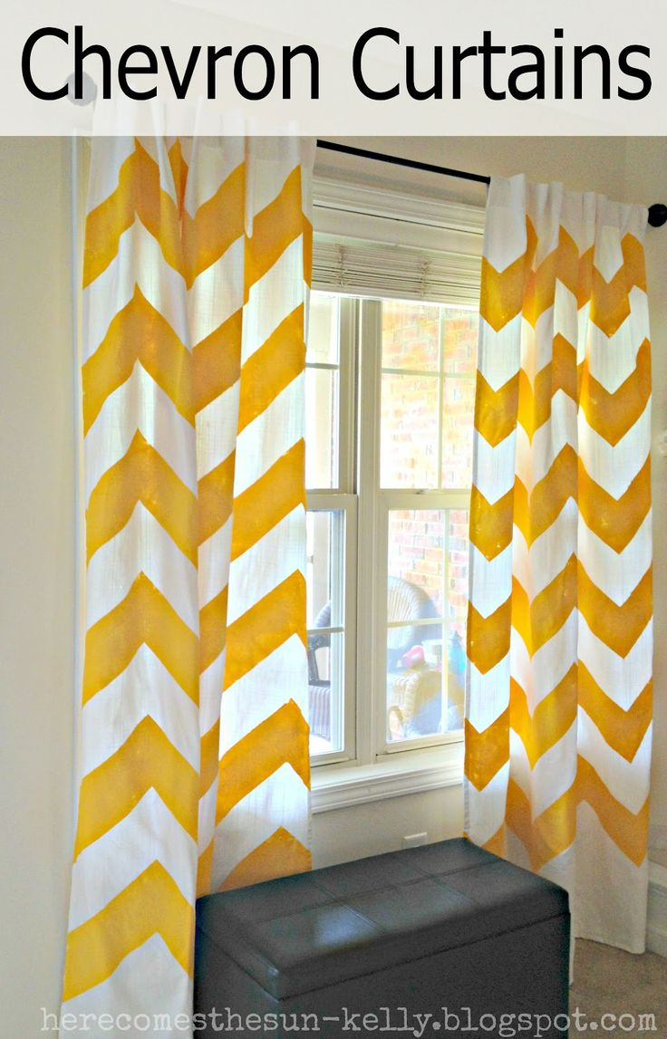 A much easier explanation of how to map out chevron curtains. Making these ASAP for my new living room!!