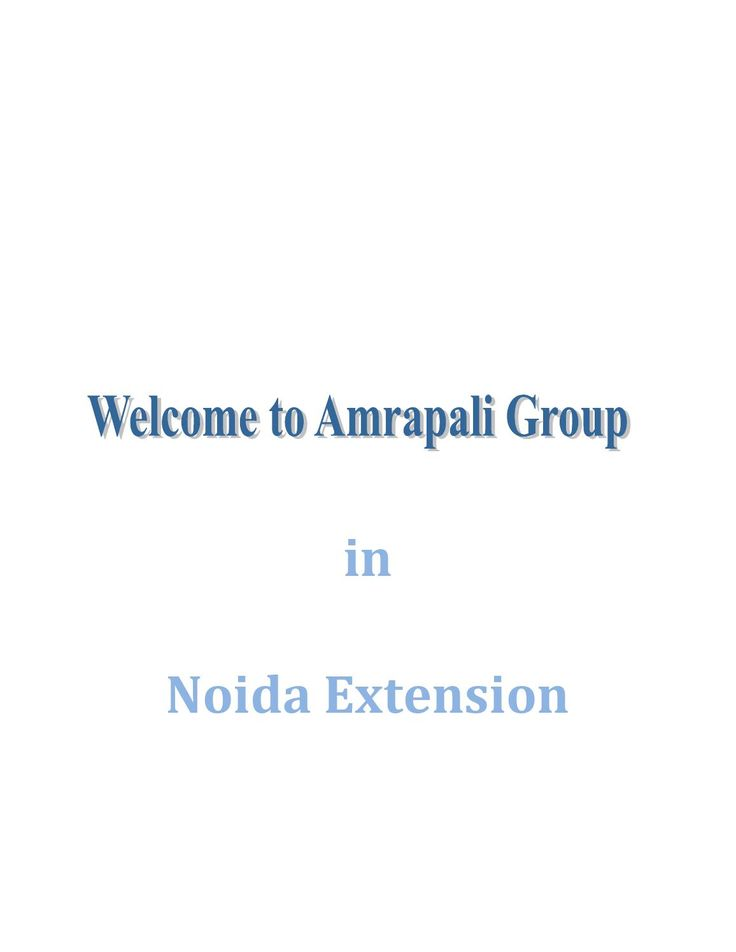 After years of excellent performance, we the Amrapali group has the vision to cross the boundaries of excellence and delivers the best of all.