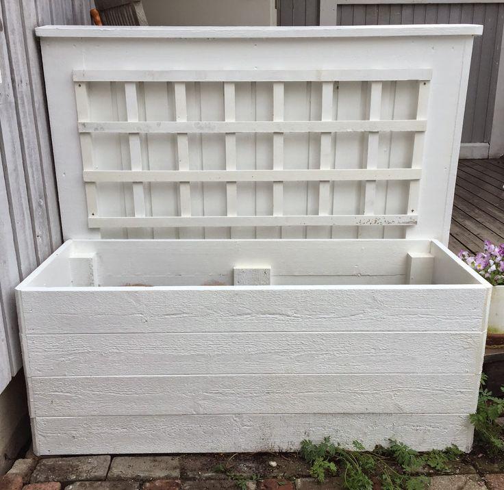 Karins hem & trädgård. Odla, bygg och inspireras!: Bygg snygg PALLKRAGE med spaljé - Gör det själv!