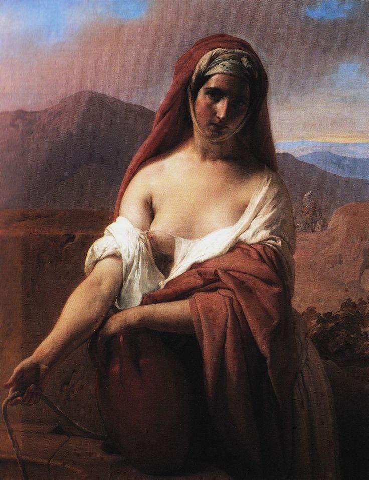 Francesco Hayez (1791 - 1882) - Rebecca at the well, 1848 ______________________________ ♥♥♥ deniseweb.free.fr ♥♥♥