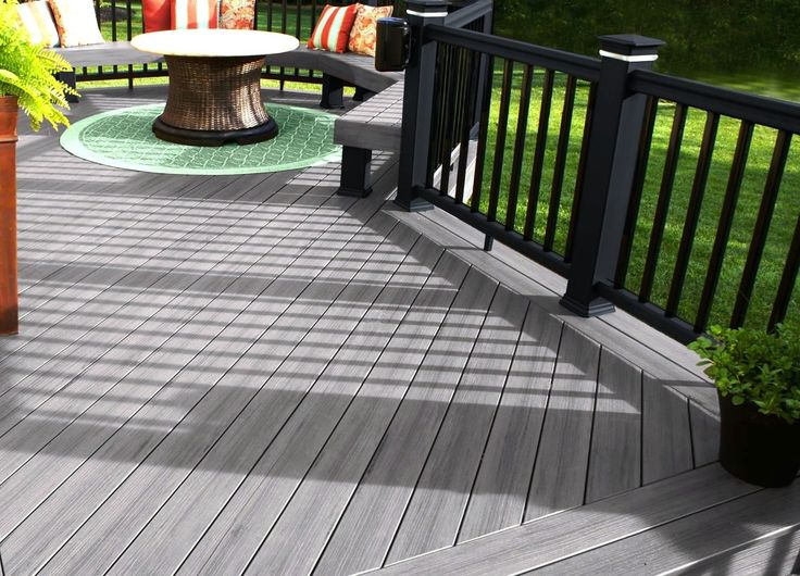 17 best ideas about composite deck railing on pinterest for Compare composite decking brands