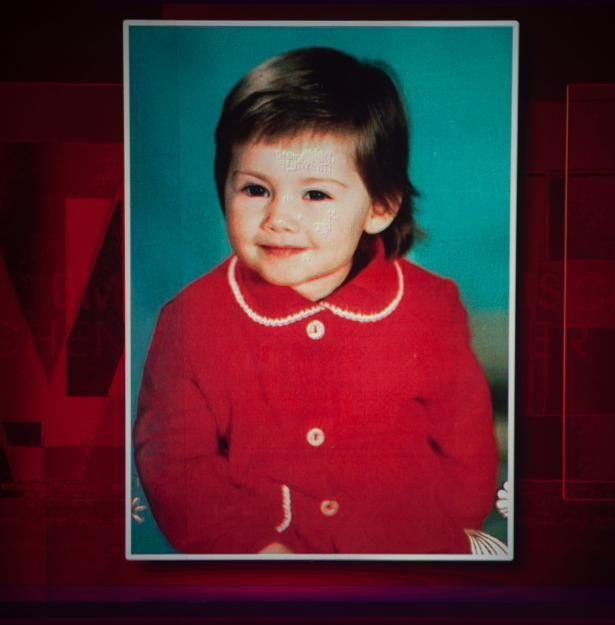 So sah die kleine Helene im Alter von drei Jahren aus.