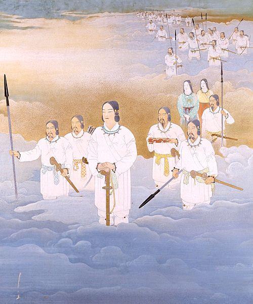 天岩戸神話や天孫降臨など、伊勢神宮にまつわる神話や伝承を紹介します。お伊勢さんとして親しまれる伊勢神宮へぜひお参りください。
