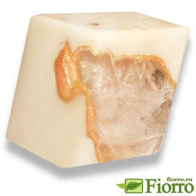 Мыльный камень Золотая жила. Дизайнерское мыло ручной работы. Яркое, красочное, оригинальный подарок.