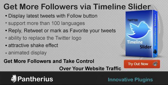 Twitter Timeline Slider - jQuery Twitter Wall (Social Networks)