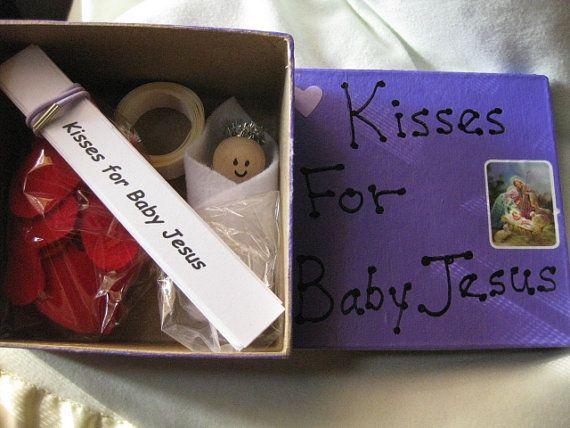 advent activity kit for children kisses for baby jesus. Black Bedroom Furniture Sets. Home Design Ideas
