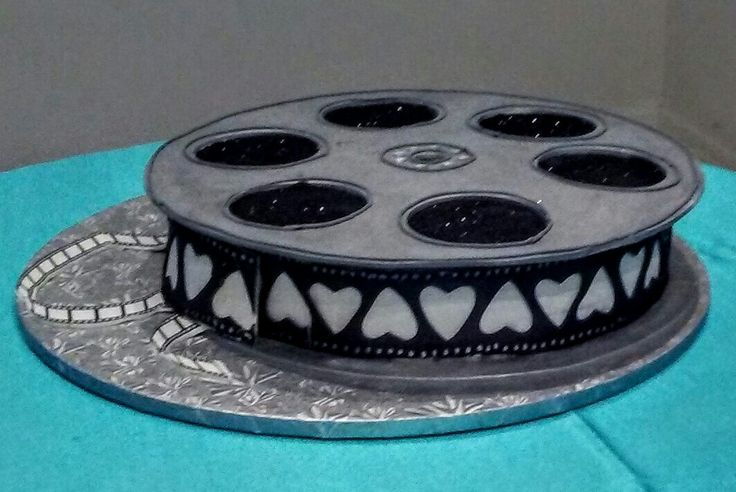Cake With Photo Reel : 1000+ ideas about Hollywood Cake on Pinterest Movie ...