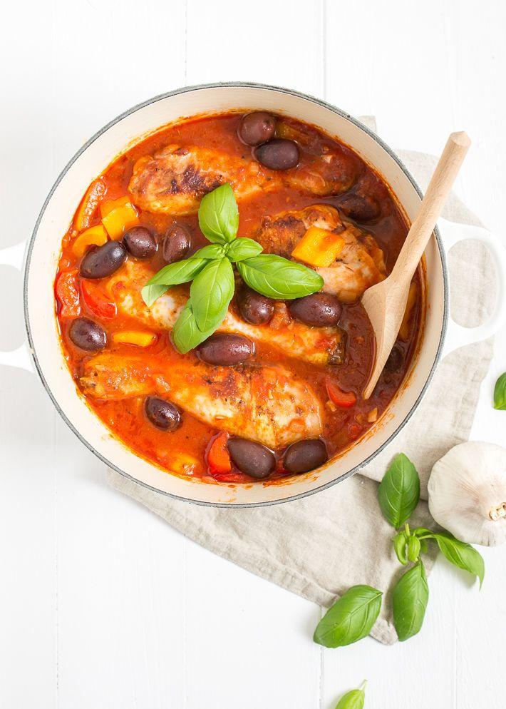 Italiaanse kip stoofpot