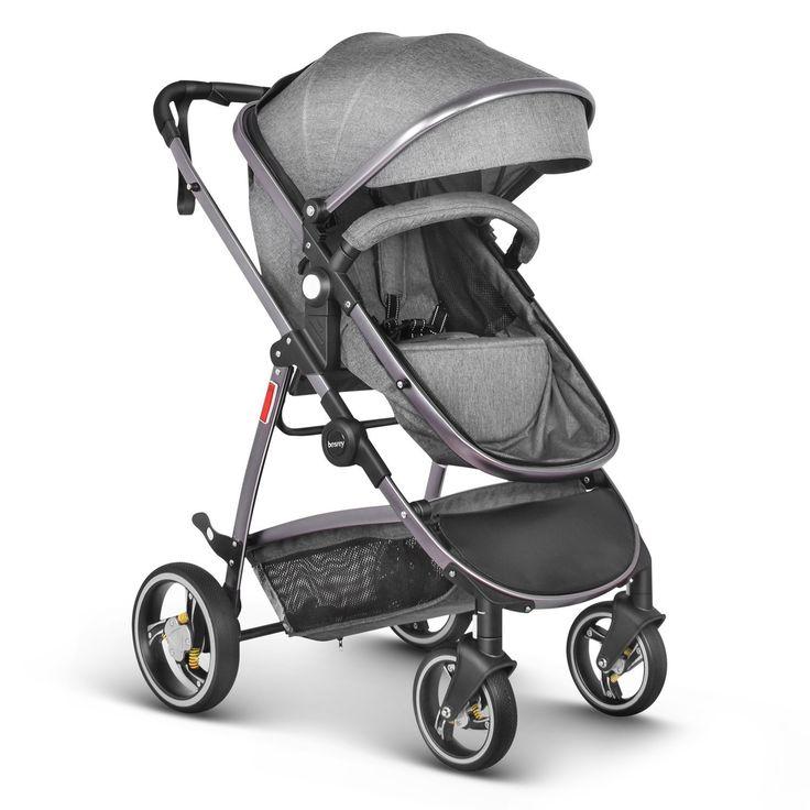Besrey Newborn Baby Stroller Luxury Baby Pram Infant
