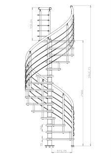 M s de 1000 ideas sobre escaleras en caracol en pinterest - Dimensiones escalera de caracol ...