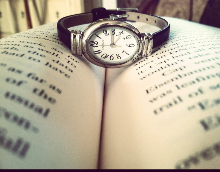 Big Grace took this. Nothing like a good book to pass the time.<3