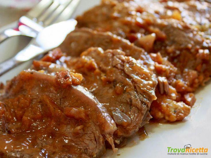 Arrosto semplice di vitello (Cappello del Prete) #ricette #food #recipes