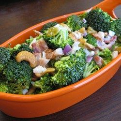 Broccoli-and-Bacon Salad - Allrecipes.com