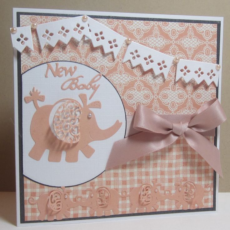 Card Making Ideas Using Tattered Lace Dies Part - 20: Tattered Lace Dies: New Baby By Brenda. Kids CardsBaby ...