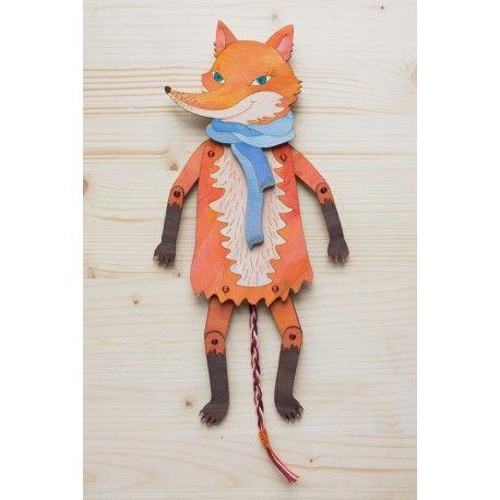 Chytrá liška ze série Kamarádi z Beskyd