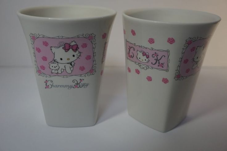 Rare Kawaii #HelloKitty Charmmy Kitty Cup Goblet Tea #Sanrio Japan Chinaware Set from $34.99