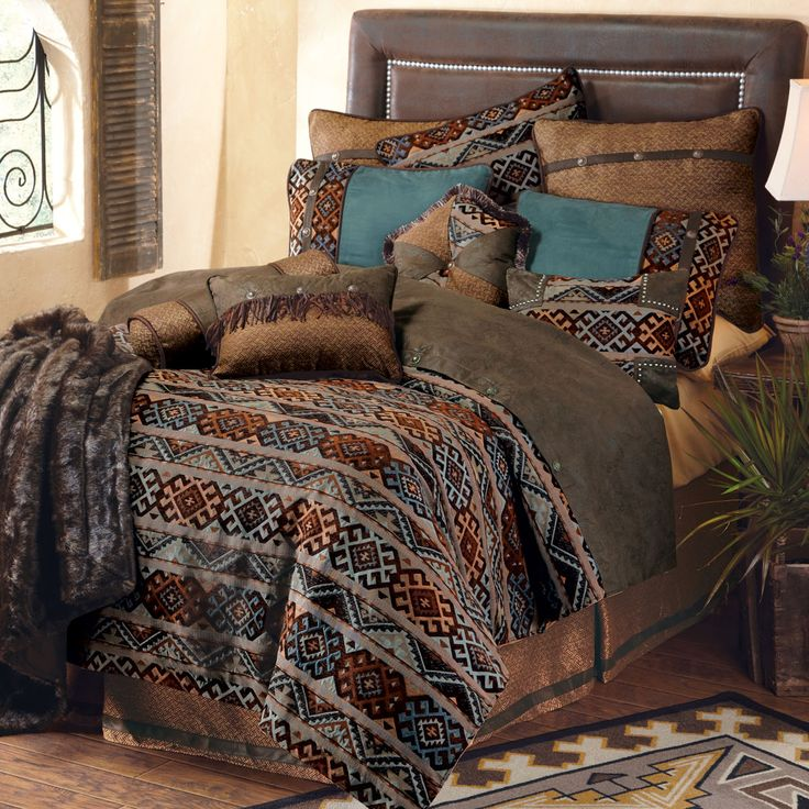 Western Bedding King Size Rio Grande Bed SetLone Star Western Decor