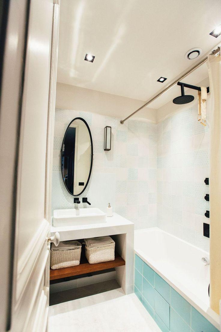 Badezimmer ideen marine  best petite salle de bain images on pinterest  bathroom small