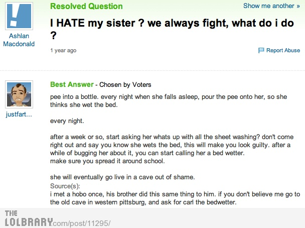 LOL Carl the bedwetter..
