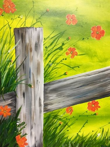 Spring in Bloom at Castello Restaurant - Paint Nite Events near Danbury, CT>